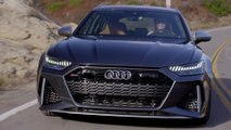 Audi RS 6 in Daytona Grey Driving Video