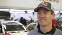 Toyota's new lineup in the WRC Interview Sébastien Ogier