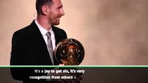 Someone will beat my Ballon d'Or record - Messi
