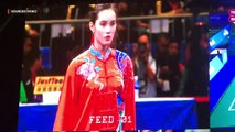 Agatha Wong captures her 2nd gold in SEA Games 2019 wushu