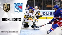 NHL Highlights | Golden Knights @ Rangers 12/02/19