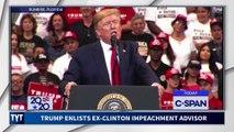 Trump Imitating Bill Clinton