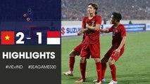 Highlight | Việt Nam 2 - 1 Indonesia | Indo Thua Tâm Phục Với Siêu Phẩm Phá Lưới Của Hoàng Đức | NEXT SPORTS