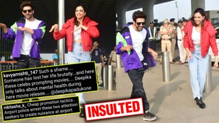 Fans INSULT Deepika Padukone For Dancing At The Airport With Kartik Aaryan