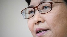 Lam Pledges More Relief Measures for Hong Kong