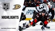 NHL Highlights | Kings @ Ducks 12/02/19