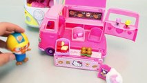 Hello Kitty Camping Cars Camper Toys And Snack Van Mini Car Toy