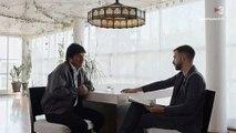 La cara de estreñido de este presentador de la TV3 cuando Evo Morales le dice que en Bolivia no apoya la independencia