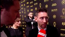 "Football: For Lionel Messi, ""it is a joy to have"" six Ballon d'Or"