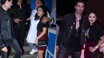 Sunny Leone attends Raza Beig's birthday party with husband Daniel Weber | FilmiBeat