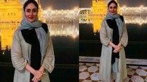 Kareena Kapoor Khan seeks blessings at Golden Temple | FilmiBeat