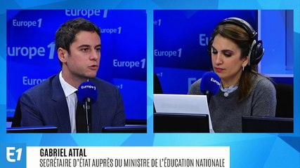 Gabriel Attal - Europe 1 mardi 3 décembre 2019