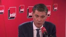 """Olivier Faure veut une réforme des retraites qui prenne en compte la pénibilité: """"Aujourd'hui le système est inégalitaire. Vous avez 13 ans de différence d'espérance de vie entre les 5% des Français les plus riches et les 5% les plus pauvres"""""""