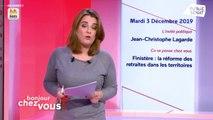 Invité : Jean-Christophe Lagarde - Bonjour chez vous ! (03/12/2019)