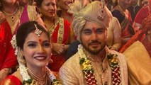 Indian Cricketer Manish Pandey Ties The Knot With Actress Ashrita Shetty