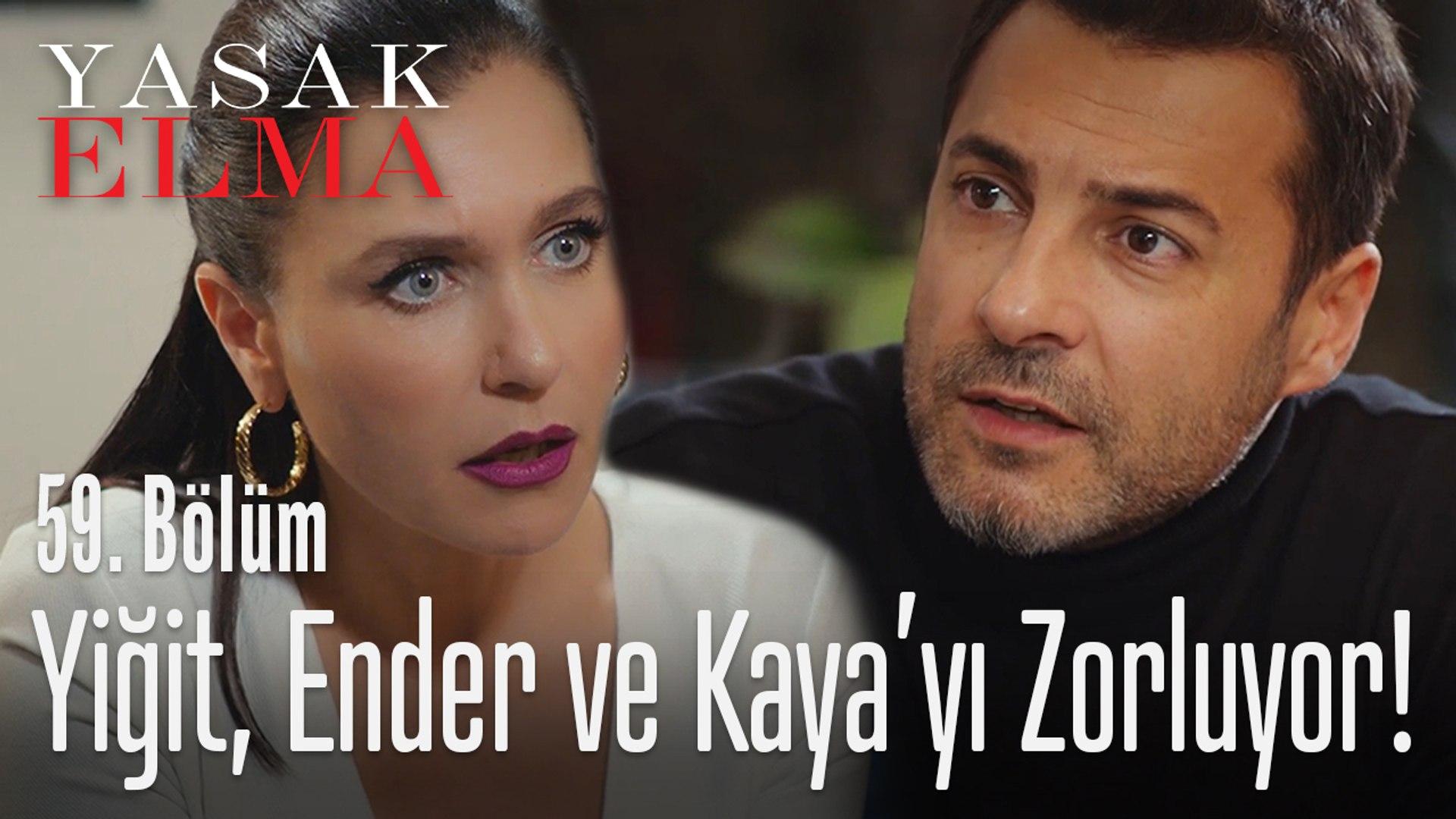 Kaya ve Ender, Yiğit'e direniyor - Yasak Elma 59. Bölüm