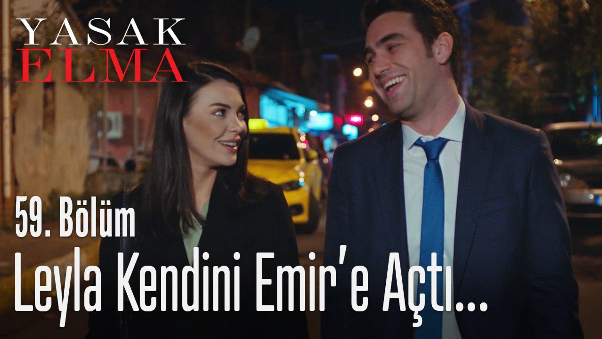 Leyla ve Emir dertleşiyor - Yasak Elma 59. Bölüm