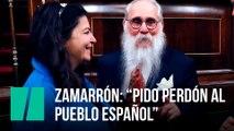 """Zamarrón: """"Pido perdón al pueblo español"""""""