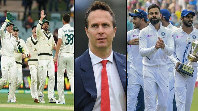 Australia vs Pak : Only India Can Beat Australia At Home Says Michael Vaughan || Oneindia Telugu