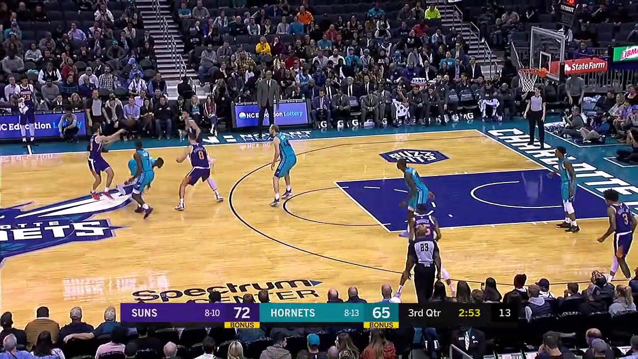 Phoenix Suns 109 - 104 Charlotte Hornets