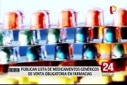 Advierten que farmacias podrían fabricar su propio medicamento genérico DCI
