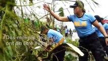 Les Philippines balayées par un violent typhon