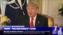 "Otan: Donald Trump juge ""très insultant"" le jugement d'Emmanuel Macron"