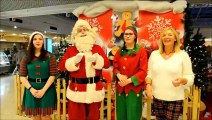 Santa Claus at the Howgate Shopping Centre