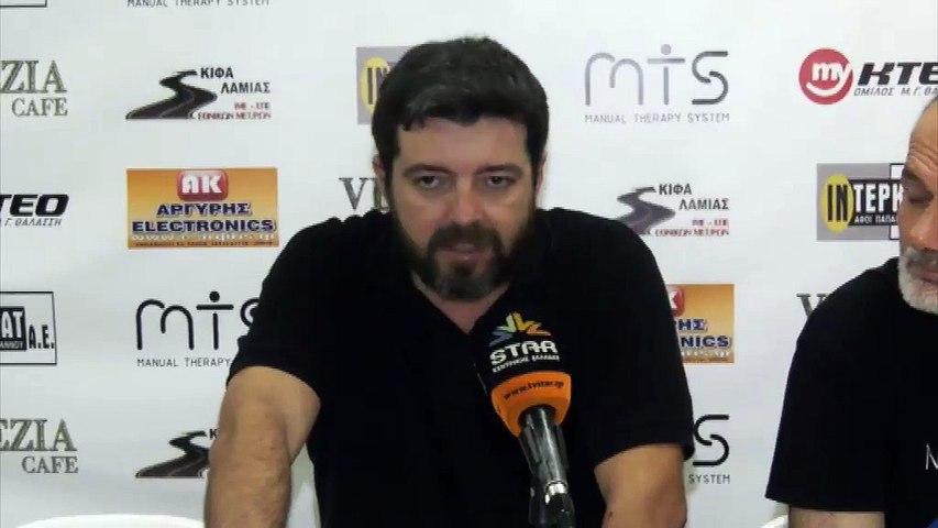 Γιάννης Σοφογιάννης: Στο τέλος θα φύγουμε όρθιοι από το γήπεδο