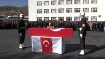 Pençe-3 Harekatı'nda şehit olan asker için tören düzenlendi (2)