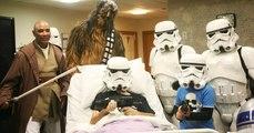 Un fan en phase terminale a pu voir le dernier Star Wars avant sa sortie