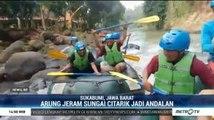 Wisata Arung Jeram Sungai Citarik Masih Banyak Peminat