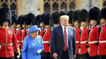 President of the United States of America Donald Trump is visiting the UK to mark 70th anniversary of NATO