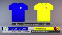 Match Preview: Leicester City vs Watford on 04/12/2019