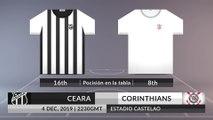 Match Preview: Ceara vs Corinthians on 04/12/2019