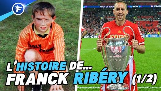 Le fabuleux destin de Franck Ribéry, de banni au LOSC à légende vivante du Bayern Munich