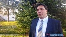 Cyrille Brero, candidat aux municipales de Lons-le-Saunier