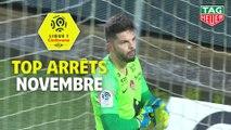 Top arrêts Ligue 1 Conforama - Novembre (saison 2019/2020)