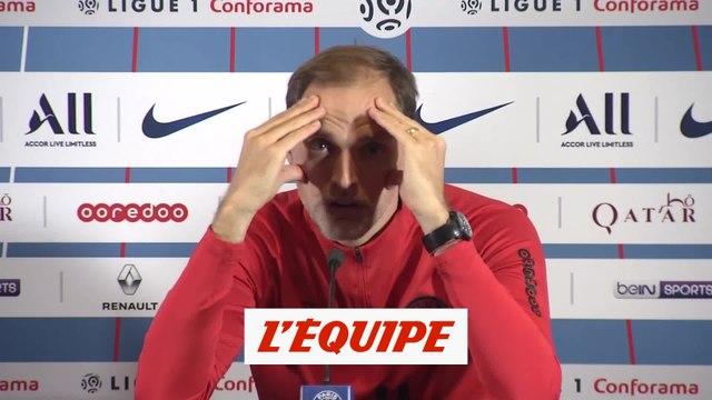 Tuchel «J'ai un peu peur des blessures» - Foot - L1 - PSG