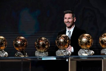 Messi obtiene su sexto Balón de Oro
