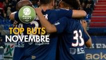 Top Buts Domino's Ligue 2 - Novembre (saison 2019/2020)