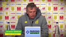 Christian Gourcuff avant Paris SG - FC Nantes