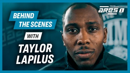 ARES 1: Behind the scene w/ Taylor 'Double Impact' Lapilus  is BACK