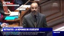 """Édouard Philippe: le gouvernement annoncera, en début de semaine prochaine, """"les propositions pour mettre en place ce système universel"""""""