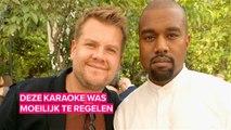 James Corden vertelt hoe moeilijk Kanye was