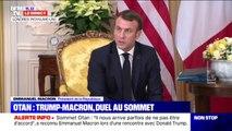 """""""Mes déclarations ont suscité pas mal de réactions"""", admet Emmanuel Macron après avoir déclaré que l'Otan est en état de """"mort cérébrale"""""""
