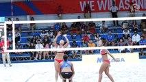 Highlights of Philippines vs Thailand women's beach volleyball match