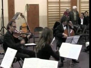 Ensemble Orchestral  des Alpes de la Mer Quatuor Mozart