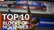 Turkish Airlines EuroLeague, Top 10 Blocks of November!
