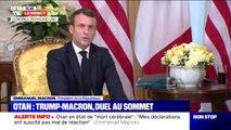 """Emmanuel Macron sur la taxe GAFA: """"Nous pouvons régler cette situation"""""""
